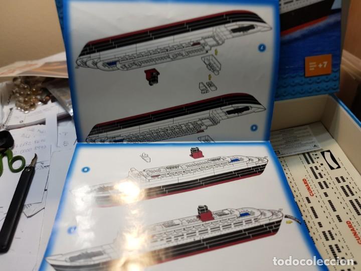 Juegos construcción - Tente: Tente Queen Elizabeth 2 completo en caja original y manual - Foto 8 - 236745185