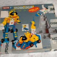 Juegos construcción - Tente: TENTE ROBLOCK X-TRONIC 0797. Lote 237374655