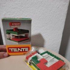 Juegos construcción - Tente: OCASION COLECCIONISTAS ! JUGUETE CLASICO AÑOS 80 TENTE REF. 508 KIOSCO DE REFRESCOS. Lote 237382220