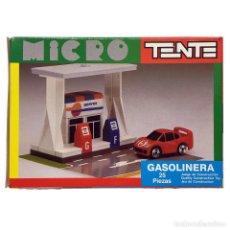 Juegos construcción - Tente: TENTE MICRO GASOLINERA. NUEVO. VINTAGE. Lote 239563520