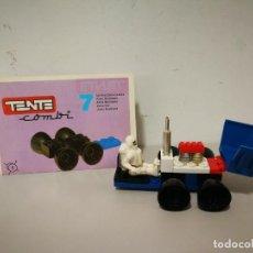 Juegos construcción - Tente: TENTE COMBI 7 COMPLETO CON INSTRUCCIONES. Lote 240728015