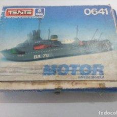 Juegos construcción - Tente: TENTE MOTOR BUQUE DE ASALTO RE:0641/SOLO CAJA VACIA.. Lote 241167760