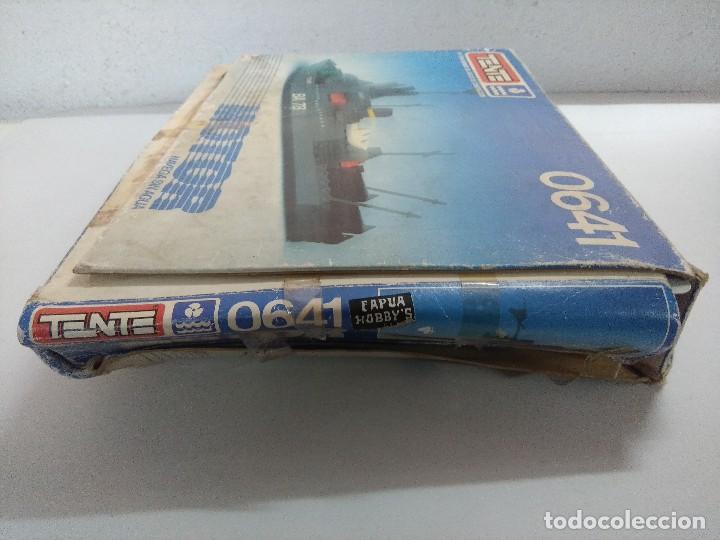 Juegos construcción - Tente: TENTE MOTOR BUQUE DE ASALTO RE:0641/SOLO CAJA VACIA. - Foto 4 - 241167760