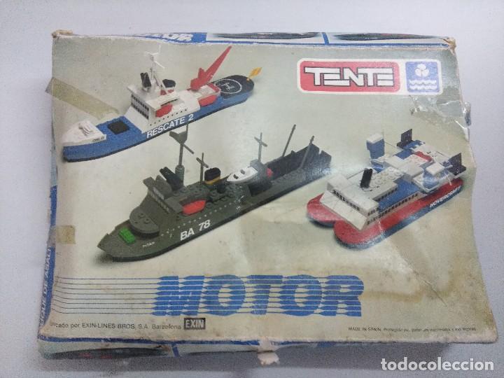 Juegos construcción - Tente: TENTE MOTOR BUQUE DE ASALTO RE:0641/SOLO CAJA VACIA. - Foto 6 - 241167760