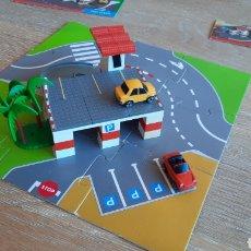 Juegos construcción - Tente: TENTE MICRO EXIN REF 0420 - PARKING - COMPLETO. Lote 241121890