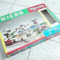Juegos construcción - Tente: TENTE EXIN MICRO CAJA VACIA DE LA BASE NAVAL. REFERENCIA 0436. Lote 243632080