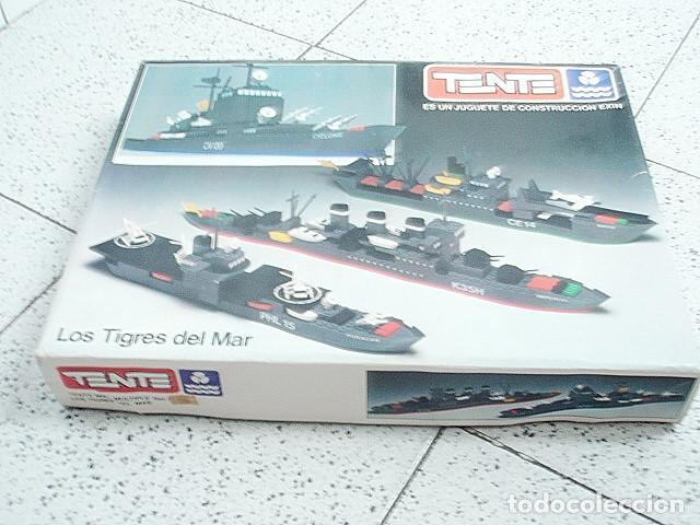 TENTE EXIN LOS TIGRES DEL MAR. REFERENCIA 0541 (Juguetes - Construcción - Tente)