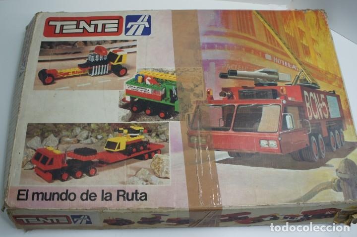 TENTE EL MUNDO DE LA RUTA REF. 0553 CON INSTRUCCIONES - INCOMPLETO VER DESCRIPCIÓN. (Juguetes - Construcción - Tente)