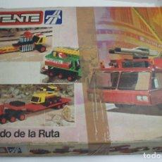 Juegos construcción - Tente: TENTE EL MUNDO DE LA RUTA REF. 0553 CON INSTRUCCIONES - INCOMPLETO VER DESCRIPCIÓN.. Lote 243845915