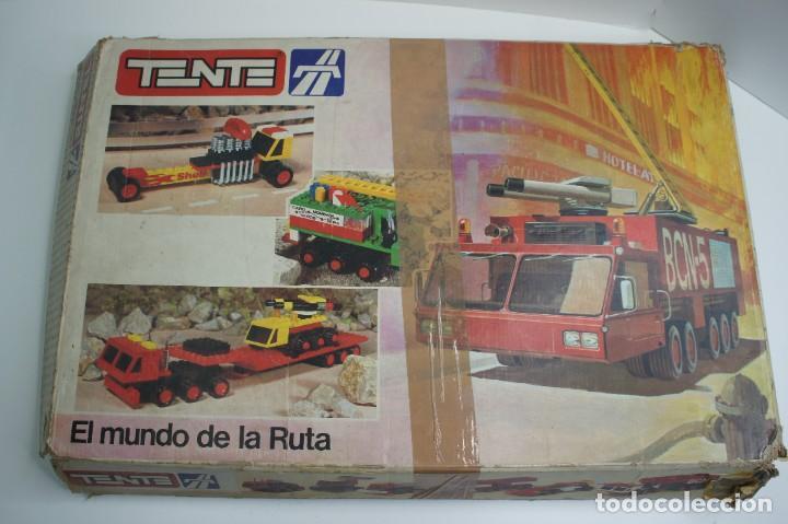 Juegos construcción - Tente: TENTE EL MUNDO DE LA RUTA REF. 0553 CON INSTRUCCIONES - INCOMPLETO VER DESCRIPCIÓN. - Foto 2 - 243845915