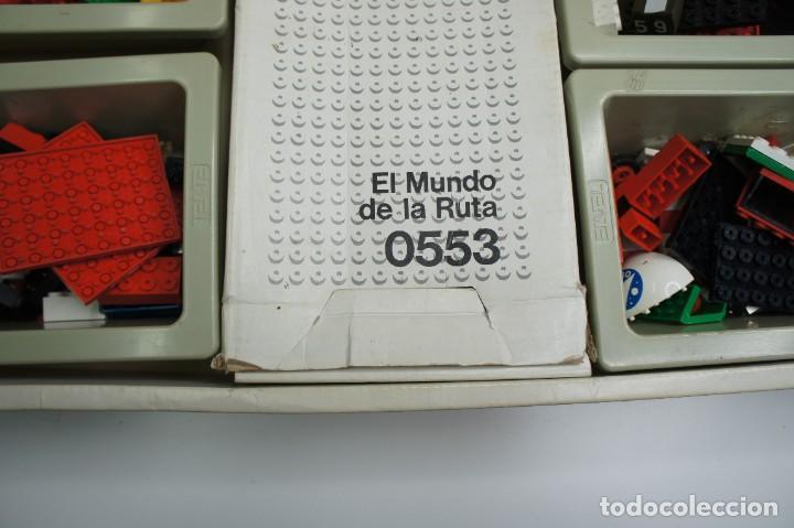 Juegos construcción - Tente: TENTE EL MUNDO DE LA RUTA REF. 0553 CON INSTRUCCIONES - INCOMPLETO VER DESCRIPCIÓN. - Foto 12 - 243845915