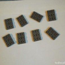 Giochi costruzione - Tente: TENTE 8 PLACAS BASE 3 X2 GRISES. Lote 244731585