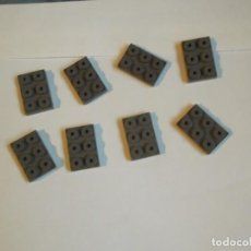 Giochi costruzione - Tente: TENTE 8 PLACAS BASE 3 X2 GRISES. Lote 244731630