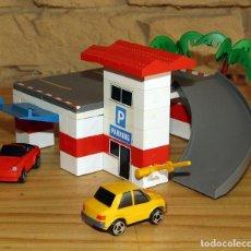 Juegos construcción - Tente: MICRO TENTE - EXIN - 0420 - PARKING APARCAMIENTO PARQUING - COMPLETO - MUY BUEN ESTADO. Lote 244845810