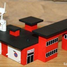 Juegos construcción - Tente: MICRO TENTE - EXIN - 0421 - FIRE STATION - ESTACION BOMBEROS - BUEN ESTADO. Lote 245115645