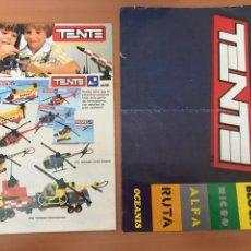 Jeux construction - Tente: 2 CATÁLOGOS TENTE EXIN. Lote 247323145