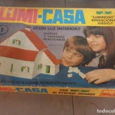 Juegos construcción - Tente: JUEGO MESA CONSTRUCCION LUMICASA LUMI-CASA. Lote 249593575