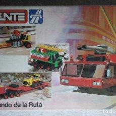 Juegos construcción - Tente: TENTE 0553 EL MUNDO DE LA RUTA - LOTE - PIEZAS VARIADAS. Lote 254685510