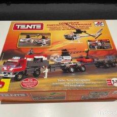 Juegos construcción - Tente: TENTE BORRAS TRAILER PORTA-HELICÓPTEROS. REF. 70131.. Lote 255336995