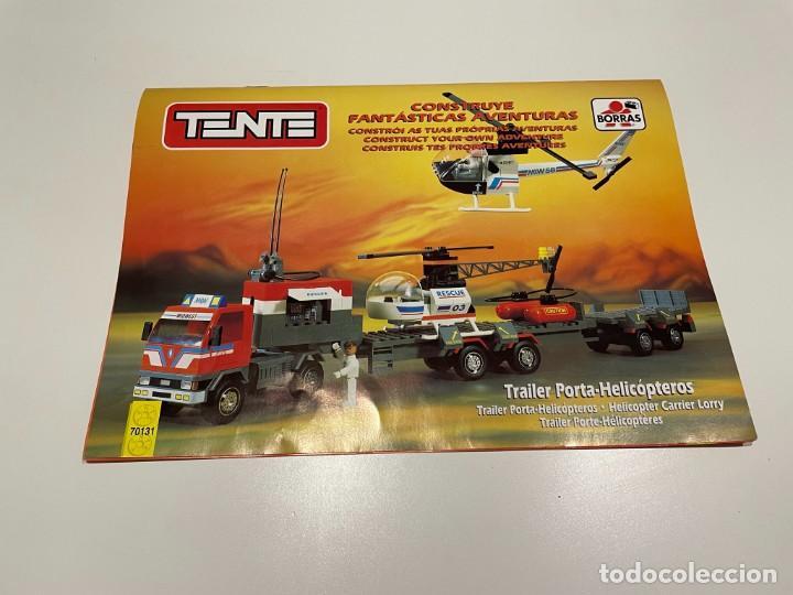 Juegos construcción - Tente: TENTE BORRAS Trailer Porta-Helicópteros. Ref. 70131. - Foto 2 - 255336995