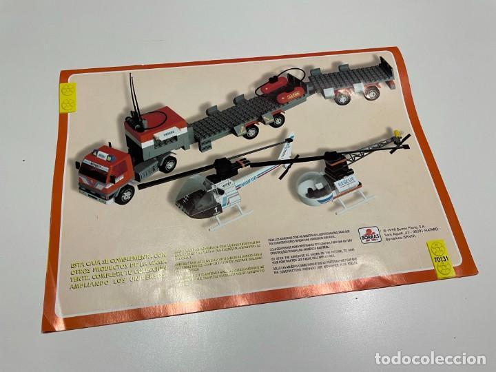 Juegos construcción - Tente: TENTE BORRAS Trailer Porta-Helicópteros. Ref. 70131. - Foto 3 - 255336995