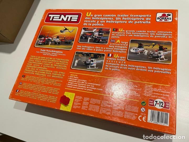 Juegos construcción - Tente: TENTE BORRAS Trailer Porta-Helicópteros. Ref. 70131. - Foto 5 - 255336995