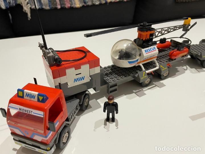 Juegos construcción - Tente: TENTE BORRAS Trailer Porta-Helicópteros. Ref. 70131. - Foto 7 - 255336995