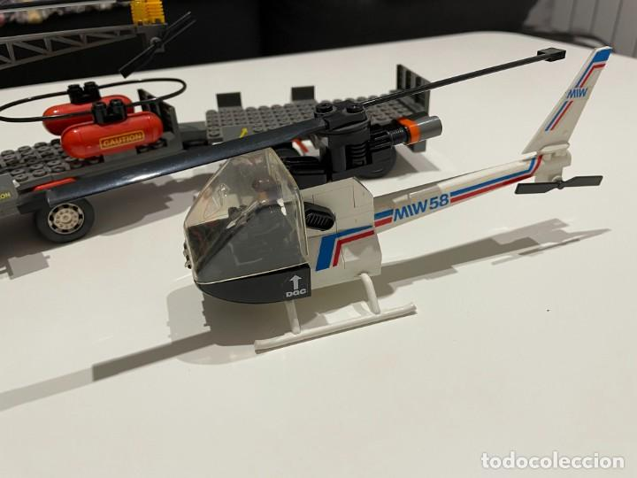 Juegos construcción - Tente: TENTE BORRAS Trailer Porta-Helicópteros. Ref. 70131. - Foto 8 - 255336995