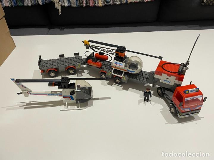 Juegos construcción - Tente: TENTE BORRAS Trailer Porta-Helicópteros. Ref. 70131. - Foto 9 - 255336995