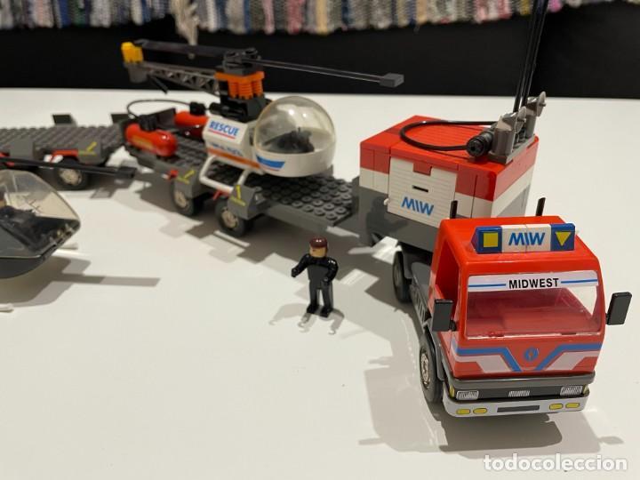 Juegos construcción - Tente: TENTE BORRAS Trailer Porta-Helicópteros. Ref. 70131. - Foto 10 - 255336995