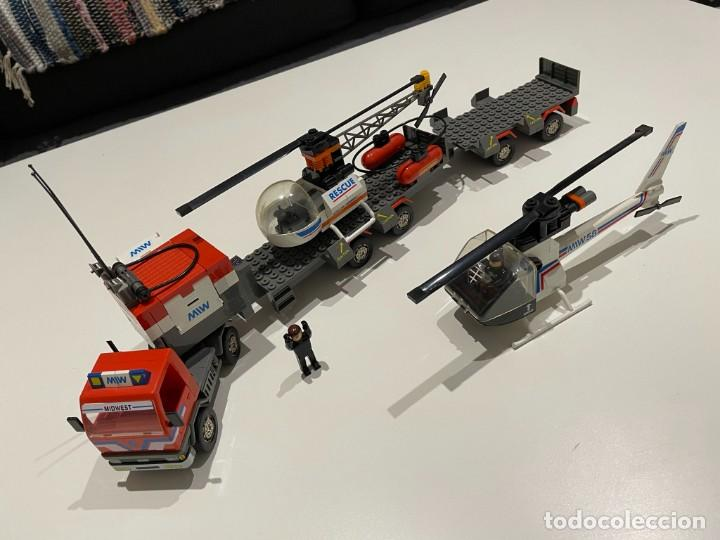 Juegos construcción - Tente: TENTE BORRAS Trailer Porta-Helicópteros. Ref. 70131. - Foto 12 - 255336995