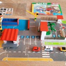 Juegos construcción - Tente: TENTE MICRO EXIN REF 0427 PUERTO - COMPLETO. Lote 257631155