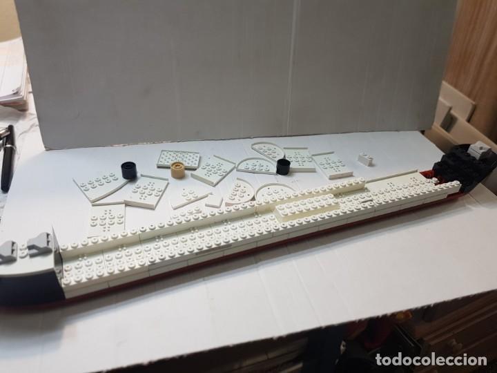 TENTE TITANIC LOTE DESPIECE CASCO COMPLETO (Juguetes - Construcción - Tente)