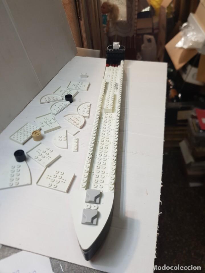 Juegos construcción - Tente: Tente Titanic lote despiece casco completo - Foto 2 - 261830440