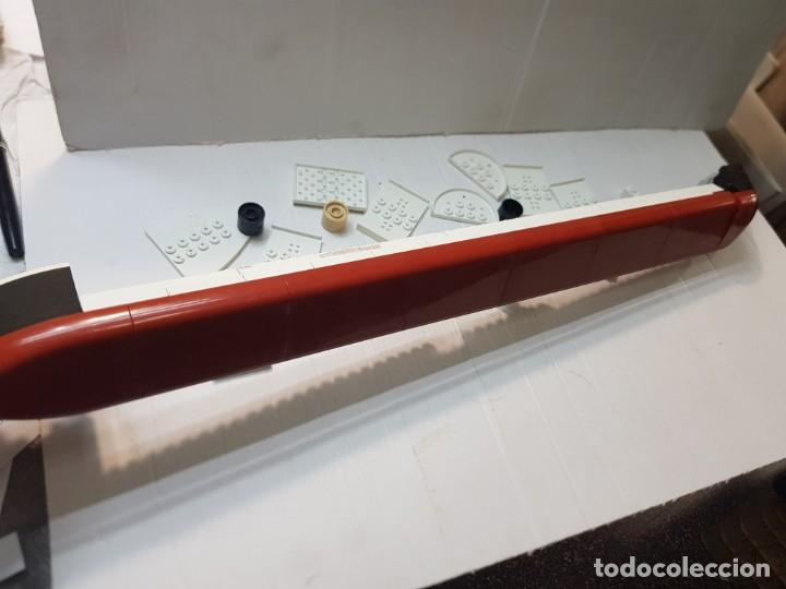 Juegos construcción - Tente: Tente Titanic lote despiece casco completo - Foto 3 - 261830440