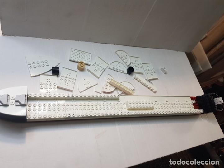 Juegos construcción - Tente: Tente Titanic lote despiece casco completo - Foto 4 - 261830440