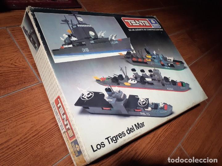 Juegos construcción - Tente: Tente Exin.Los tigres del Mar.Caja grande ref.0541.Años 70. - Foto 2 - 262533620