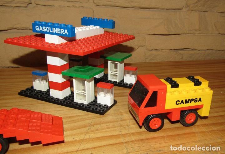 Juegos construcción - Tente: TENTE EXIN. LOTE DE VEHICULOS: 0693 - 0762 - 0674 - 0692 - 0680. REFERENCIAS COMPLETAS. - Foto 2 - 265831249