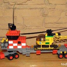 Juegos construcción - Tente: TENTE AIRE - EXIN - HELICOPTERO AUTOTRANSPORTADO - 0530 - COMPLETO. Lote 267736924