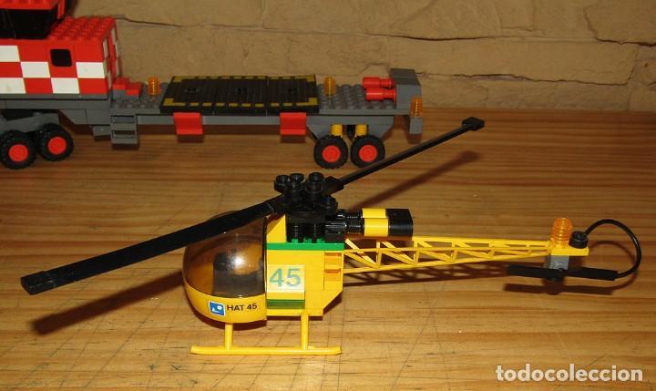 Juegos construcción - Tente: TENTE AIRE - EXIN - HELICOPTERO AUTOTRANSPORTADO - 0530 - COMPLETO - Foto 2 - 267736924