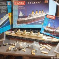 Juegos construcción - Tente: TENTE TITANIC, COMPLETO O MUY COMPLETO. Lote 267831779