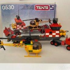 Juegos construcción - Tente: TENTE EXIN SERIE AIRE, HELICÓPTERO AUTOTRANSPORTADO. REF. 0530.. Lote 269062563