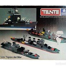 Juegos construcción - Tente: TENTE REF 0541 LOS TIGRES DEL MAR EXIN-LINE AÑOS 80. Lote 269471133
