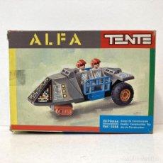 Juegos construcción - Tente: TENTE ALFA 0358. VINTAGE AÑO 1.983. NUEVO.. Lote 269804563
