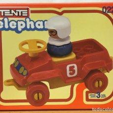 Juegos construcción - Tente: TENTE ELEPHANT COCHE ROJO. VINTAGE AÑO 1.983. NUEVO.. Lote 269807678