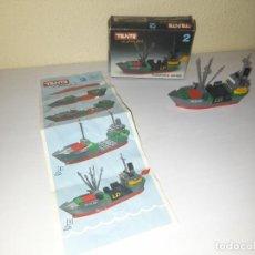 Juegos construcción - Tente: TENTE BARCO OCEAN REF 0302. Lote 270104663