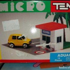 Juegos construcción - Tente: CAJA MICRO TENTE ADUANA, NUEVO SIN ABRIR, EXIN.. Lote 271619533