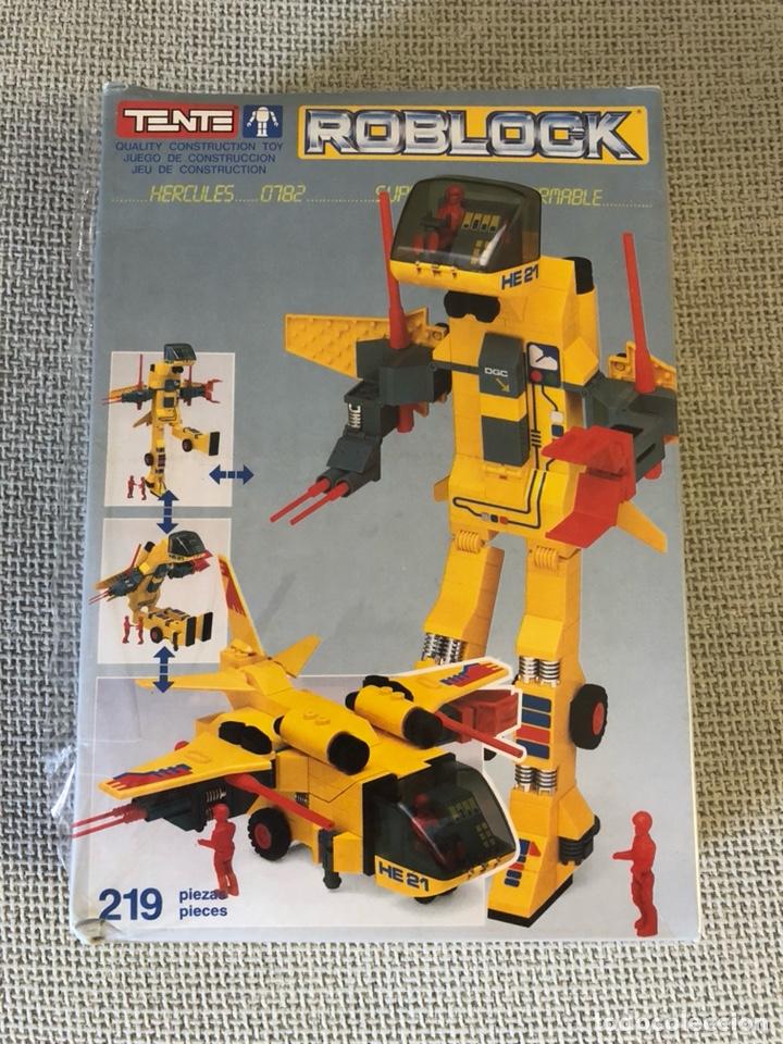 TENTE ROBLOCK HÉRCULES 0782 SIN ABRIR (Juguetes - Construcción - Tente)