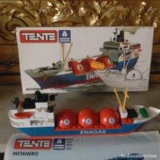 Jogos construção - Tente: HAGA SU OFERTA TENTE BARCO LIBIA METANERO ENAGAS GAS METANO. Lote 271988213