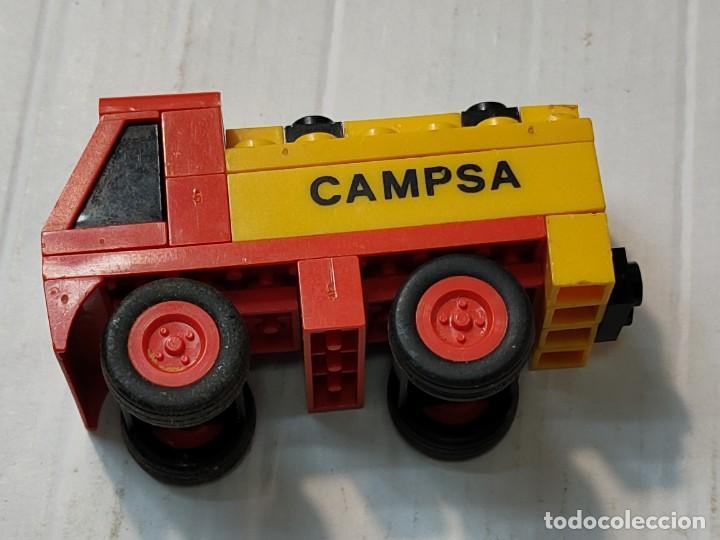 Juegos construcción - Tente: Tente Gasolinera y Camión Cisterna ref.0692 con instrucciones - Foto 4 - 272979993